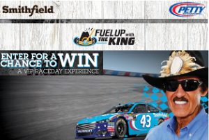 Smithfield Foods – Win a 2015 Ford F-150 pickup truck valued at $26,030 plus a trip or 2 to Daytona Beach, Florida an more prizes by October 31, 2015
