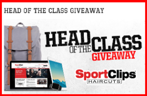 Sport Clips – Win One MacBook 512 GB Laptop Computer, one iPad mini 3 128BG, one Apple Watch 42mm and more prizes by August 21, 2015.