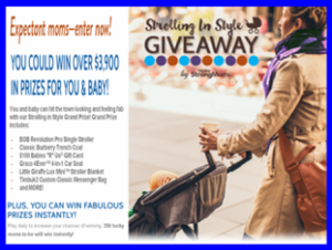 Similac – Win over $3,900 in prizes for you and baby plus fabulous prizes by January 15, 2016 – INSTANTLY!