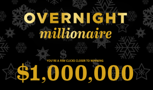 Old Navy – Win $1,000,000 awarded as a check from Old Navy Overnight Millionaire by November 27, 2015