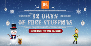 JBL – Win a trip to Hard Rock Hotel in Las Vegas, Nevada and tons of  great prizes by December 19, 2015 – DAILY !