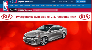 NBA.com – Win a 2016 Kia Optima LX valued at $21,840 and more instant prizes by December 21, 2015 – INSTANTLY!