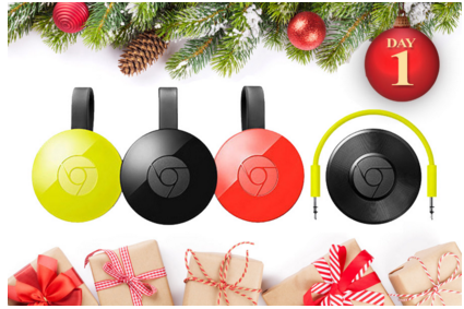 Ryan Seacrest – Win Chromecast, Chromecast Audio, 50 INCH Smart LED TV, Desktop Speakers and $100 Google Play gift card by December 11, 2015