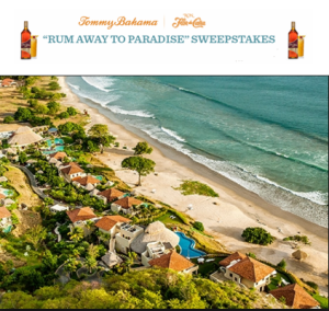 Tommy Bahama – Win a trip for two to Mukul Luxury Resort and Spa in Guacalito de La Isla, Nicaragua valued at 11,850 by December 31, 2015
