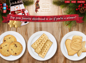Walkers Shortbread – Win a coupon code for $100 off a purchase of $100 or more prizes by December 15, 2015 – INSTANTLY!
