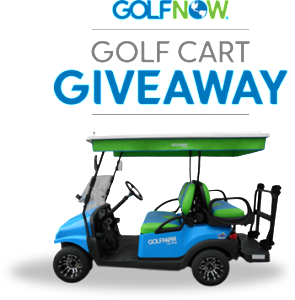 Golfnow Golf Cart – Win a GolfNow custom golf cart valued at $15,000