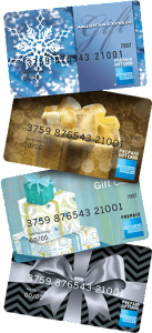 American Express – Win 1 of 185 American Express gift cards valued at $1,000 ARV OR $100 ARV each