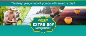 Bayer – Win 1 of 100 $500 Sponsor-specified Gift Card valued at $500 ARV each