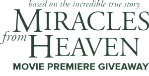 CBN – Miracles From Heaven Movie Premiere – Win a 4-night trip for 2 to the Red Carpet Premiere of Miracles from Heaven valued at $3,500 USD