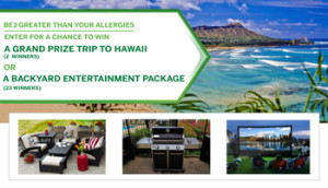 DICOM – 2016 Flonase Spring – Win 1 of 2 grand prizes of a trip for 2 to Hawaii valued at $8,500 ARV each OR 1 of 23 local market prizes valued at $5,000 each