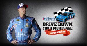 Ditech – Drive Down Your Mortgage – Win 1 of 37 checks valued at $20,000 ARV each OR 1 of 7,002 game prizes
