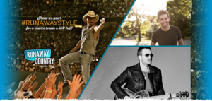 Experience Kissimmee – Win a trip for 2 to the Runaway Country Music Fest in Orlando valued at $3,500 ARV