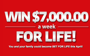 PCH – Win $7,000 A Week For Life OR $50,000 OR $10,000