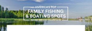 Recreational Boating & Fishing Foundation – Win a Walt Disney World Resort Family Fishing Trip prize package for 4 valued at $4,100 OR 1 of 300 Instant Win prizes