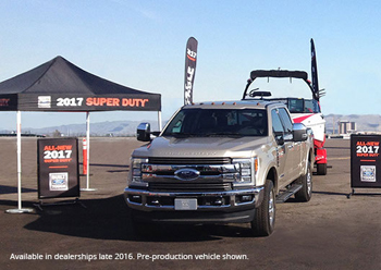 Ford Motor Company – 2017 Super Duty – Win a grand prize of a 2017 Ford Super Duty Truck valued at $60,000 ARV
