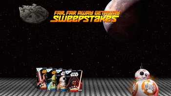 General Mills – Far Far Away Getaway – Win 1 of 2 trips for 2 to London, England for the Star Wars Celebration OR 1 of 250 Instant Win Game Prizes