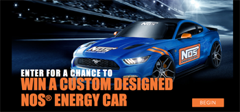 NOS Energy Drink – Fire Up – Win a grand prize of a custom NOS vehicle valued at $50,000 ARV OR a trip for 2 valued at $8,000 ARV OR 1 of 100 minor prizes