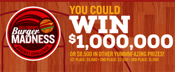 Red Robin – Bracket Challenges – Win $1,000,000 and many more prizes