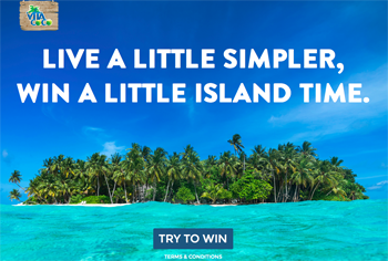 Vita Coco – Simple Island – Win a trip for 4 people to a private island valued at $25,000 ARV