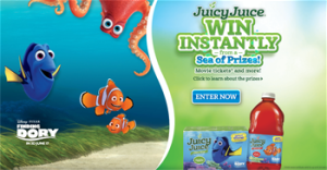 Harvest Hill Beverage – Juicy Juice – Win thousands of Instant Win Prizes