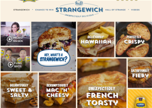 Hellmanns – Strangewich – Win a grand prize of Lunch on Sponsor for a year OR hundreds of Instant Win Prizes