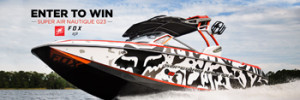 Fox Head – Super Air Nautique G23 Boat – Win a 2015 Super Air Nautique G23 Custom Fox Boat valued at up to $115,000