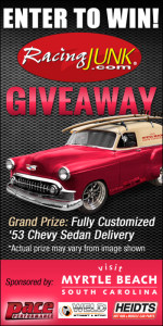 RacingJunk.com – Custom Vehicle – Win either a 1953 Chevrolet Delivery valued at US $45,000 ARV OR US$10,000 Cash