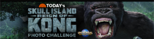 Universal Orlando Resort and NBCUniversal Media – Todays Reign of Kong Photo Challenge – Win 1 of 10 trips for 4 to Universal Orlando Resort in Orlando, FL