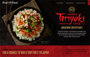 Brunckhorst Boars Head – Ichiban Teriyaki Style Awakening – Win a grand prize of a trip for 2 to Japan valued at $6,500ARV OR 1 of 1,020 Daily-Win prizes
