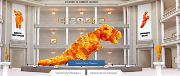 Frito-lay – Cheetos Museum – Win a grand prize of $50,000 OR 1 of 113 minor prizes