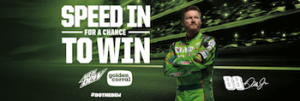 Pepsi-Cola – Speed In to Win a trip for 4 to North Texas to Meet and Greet Dale Earnhardt, Jr. on November 6, 2016