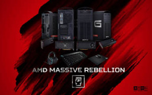 AMD Gaming – AMD Massive Rebellion – Win 1 of 4 grand prizes OR 1 of 3 minor prizes