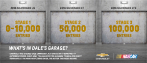 General Motors – Win the 2016 Chevy Silverado – Win a trip for 4 to Las Vegas, Nevada