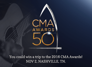J M Smucker – The Martha White 2016 Nothing But Country CMA Awards – Win 1 of 4 trips for 2 to Nashville, TN to attend the CMA Awards valued at $3,475 each
