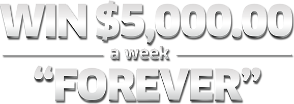 Publishers Clearing House – Win up to $5,000 A-Week Forever