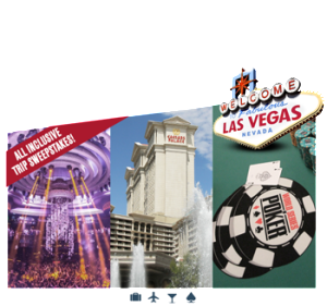Caesars Interactive Entertainment – WSOP Las Vegas VIP Weekend Experience – Win a trip for 2 to Las Vegas