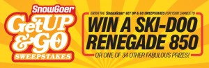 EPG Media & Specialty – Snow Goer Get Up & Go – Win a 2017 Ski-Doo Renegade Adrenaline 850 valued at $12,699 OR 1 of 34 other prizes