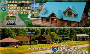 Eloghomes – Log Home Builders Choice – Win a Sweetwater, complete, weather-tight, silver log home materials package valued at $110,000