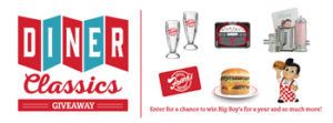 Frisch's Big Boy – 2016 Dinner Classics – Win hundreds of prizes consisting of Frisch Gift Card and Frisch items