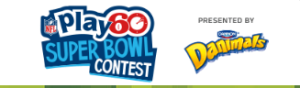 NFL – 2016 NFL Play 60 Super Bowl – Win a grand prize of a trip for 4 to attend Super Bowl LI in Houston OR 1 of 11 minor prizes