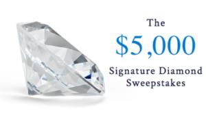 Blue Nile – Signature Diamomd Fall 2016 – Win a Blue Nile Exclusive $5,000 Signature Diamond