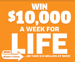 PCH – Win up to $10,000 A-Week-For-Life SuperPrize, a $50,000 Prize and a $10,000 Prize