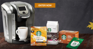 Starbucks – Albertsons-Safeway Stock Up Sale – Win 1 of 14 coffee gift cards for a year OR 1 of 28 minor prizes