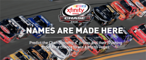 Comcast – Nascar XFinity Series 2016 Chase – Win a 32GB tablet & a trip for 2 to Las Vegas