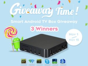 PromosPro.com – Win 1 of 3 Smart Android TV Boxes