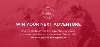 American Eagle Outfitters – AEO #WeAllCan Adventure Together – Win 1 of 6 trips and other prizes