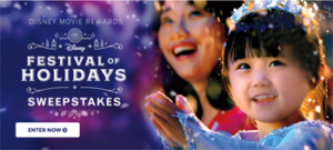 Buena Vista Home Entertainment – Disney Movie Rewards Festival of Holidays – Win a vacation package for 4 to the Disneyland Resort valued at USD$10,488