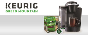 CBS – Keurig – Win Keurig K55 Brewing System & Green Mountain Coffee K-Cup Pods