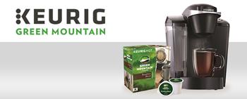 CBS – Keurig – Win Keurig K55 Brewing System & Green Mountain Coffee K-Cup Pods