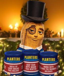 Kraft Heinz Foods – Planters Holiday Snack Sweater – Win 1 of 3,000 snack sweaters and Planters nuts can